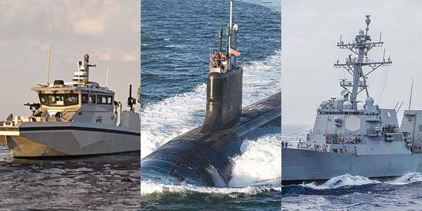 Marway's shipboard PDUs have been deployed in submarines, ships, and smaller tactical craft.