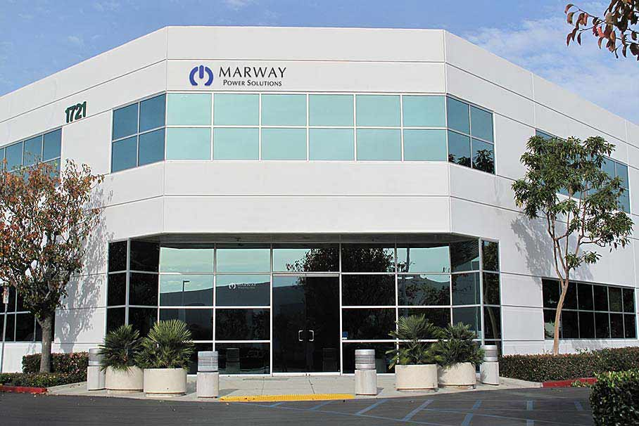A photo of Marway's facility.