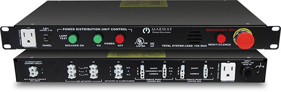 A photo of the legacy UCP 3500 control panel.