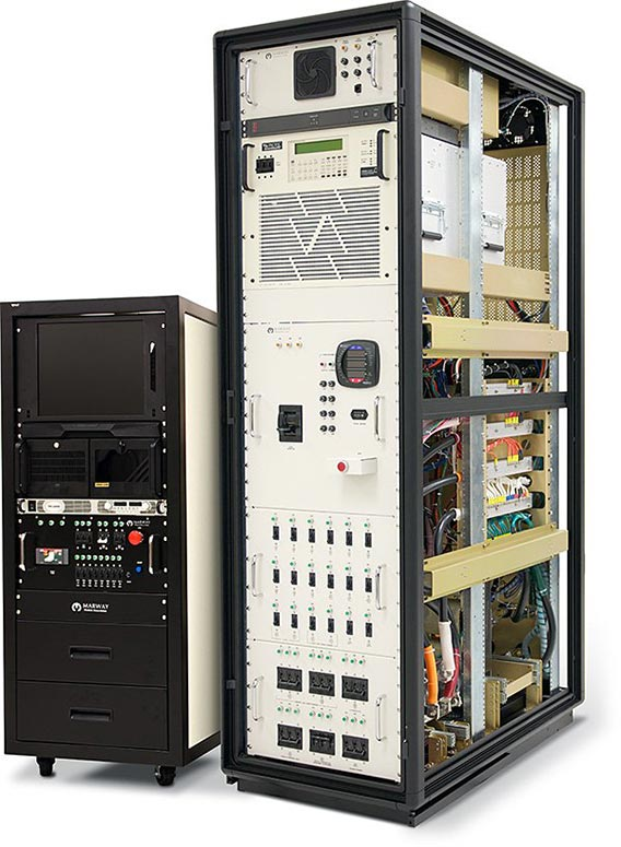 Marway PowerPlus integrated rack projects